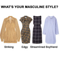 Four Types of Masculine Clothes for the Yang Woman