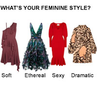 The Four Types of Feminine Clothes for the Feminine Yin Woman